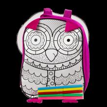 Рюкзак - раскраска